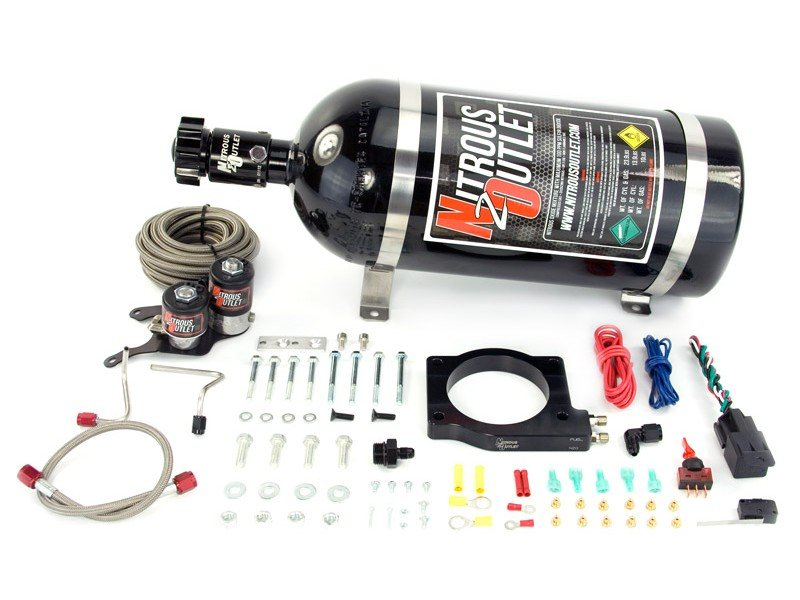 Nitrous Outlet CTS-V 90mm Plate Kit 2009-2014